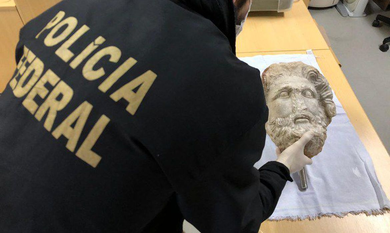 PF apreende obra de arte suspeita de ter sido roubada na Líbia
